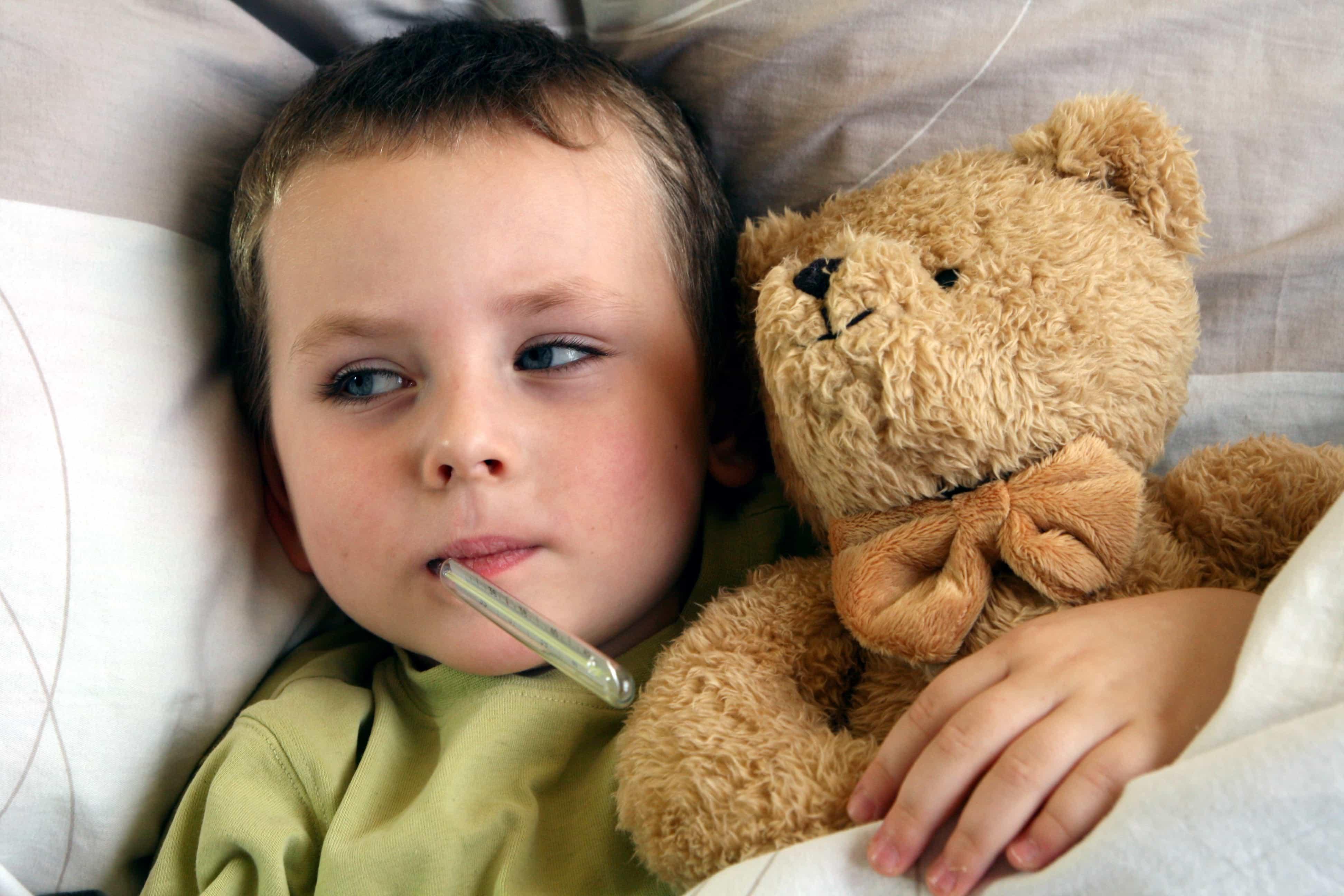 Заболевание детей в картинках
