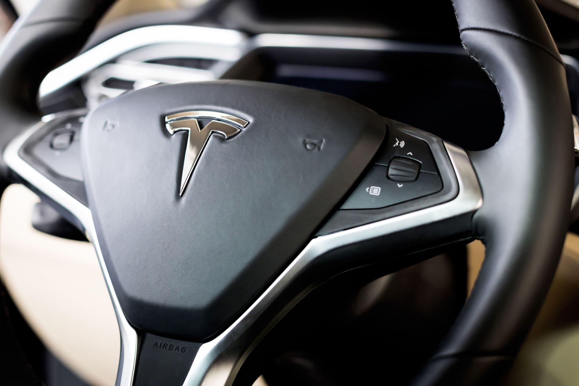 Tesla wheel