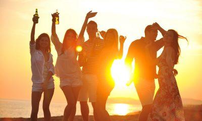 Вечеринка на пляже