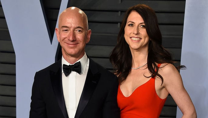 Jeff MacKenzie Bezos divorce 25 years marriage