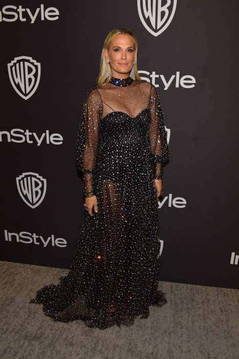 Molly Sims Golden Globe 2019 After-party