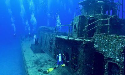 искусственный риф Маратон
